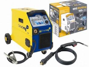Инверторно телеподаващо GYS - Smartmig 162 - 30-160 A, 0,6/0,8-1,0 мм.