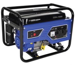 Бензинов генератор ELEKTRO MASCHINEN - GSEm 3000 SB - 3,0 kW, 15 л.
