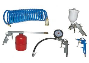 Комплект пневматични инструменти ELEKTRO MASCHINEN - KIT 5S - 5 ч.