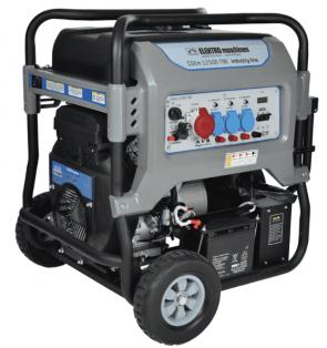 Бензинов генератор ELEKTRO MASCHINEN - GSEm 12500 TBE - 400 V, 10 kW, 35 л.