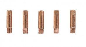 Дюзи за поточно заваряване за телеподаващ заваръчен автомат мобилен EINHELL - 0,9 мм., 5 бр. / 1576260 /