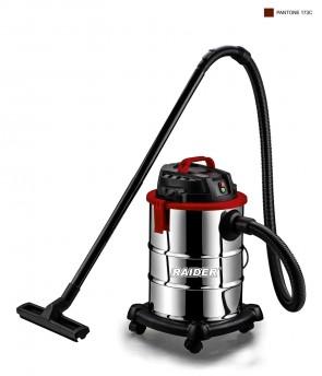 Прахосмукачка за сухо и мокро почистване RAIDER - RD-WC07 - 1300 W, 4100 л./мин1, 30 л. / Inox /