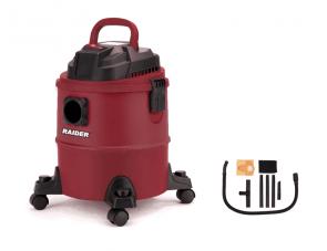 Прахосмукачка за сухо и мокро почистване RAIDER - RD-WC08 - 1250 W, 1300 л./мин1, 18 л. / Inox /