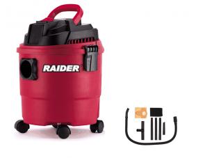 Прахосмукачка за сухо и мокро почистване RAIDER - RD-WC09 - 1250 W, 4100 л./мин1, 20 л.