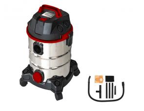 Прахосмукачка за сухо и мокро почистване RAIDER - RD-WC10 - 1250 W, 4100 л./мин1, 20 л. / Inox /