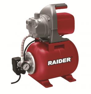 Хидрофор RAIDER - RD-WP1200J - 1200 W, 64 л./мин1, 3 bar, 48/7 м.