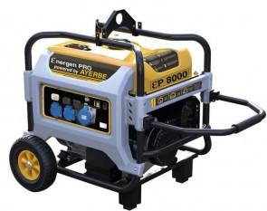 Монофазен бензинов генератор AYERBE - Ɛner-Gen Pro 8000 KT MN - 230 V, 7000 W, 3000 оборота, 35 л. / ръчно стартиране /