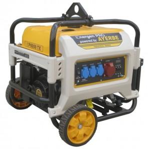 Трифазен бензинов генератор AYERBE - Ɛner-Gen Pro 8000 KT TX - 400 V, 7000 W, 3000 оборота, 35 л. / ръчно стартиране /