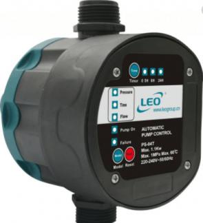 Електрически пресостат LEO - PS-04-T - 1,1 kW, 10 A, 10 bar