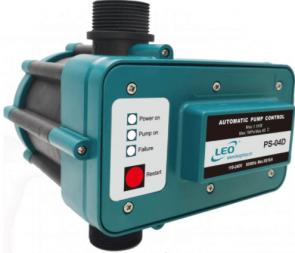 Електрически пресостат LEO - PS-04D - 2,2 kW, 30 A, 10 bar
