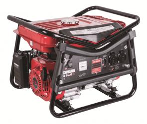Бензинов монофазен генератор за ток RAIDER - RD-GG06 - 2800 W, 12 V DC, 208 см3, 3600 оборота, 0,32 л./ч., 15 л.