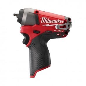 Акумулаторен ударен гайковерт MILWAUKEE - M12 CIW14-0 - RedLi-ion, 12 V, 0-1200/2650 оборота, 0-3000/4000 удара, 13-56 Nm / без батерия /