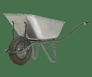Ръчна галванизирана количка PREMIUM - 65/100 л.