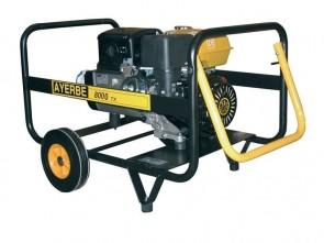 Трифазен бензинов генератор AYERBE - 8000 KT TX - 400 V, 6,4 kW, 3000 оборота, 6,5 л. / ръчно стартиране /