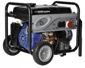 Бензинов генератор ELEKTRO MASCHINEN - GSEm 7250 TBE - 230/400 V, 7250 W, 420 см3, 23 л.