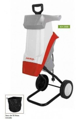 Електрическа дробилка IKRA MOGATEC - IEH 2500 - 2500 W, 40 мм., 50 л.