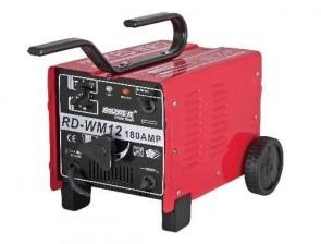 Електрожен RAIDER - RD-WM12 - 9.6 kVA, 48 V, 60-180 A, 2-4 мм.