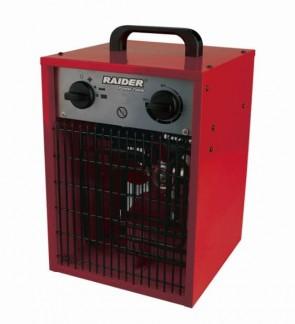 Електрически калорифер RAIDER - RD-EFH02 - 2.0 kW, 100 м./ч., 20 м2