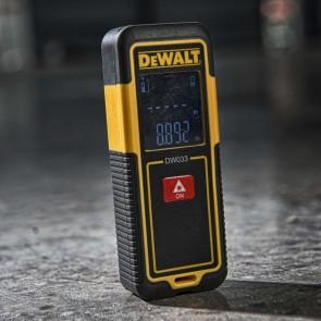 Лазерна ролетка DeWALT DW033 / 30 м , +/-1.5 мм /
