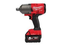 Акумулаторен гайковерт Milwaukee M18ONEFHIWF34-502X/18 V, 1627 Nm, безчетков мотор,куфар, 2 батерии и зарядно/