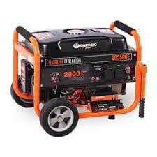 Бензинов монофазен генератор DAEWOO GD3500E /ел.старт, 2.4/2.7 kW, 15 l/