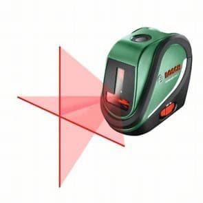 Лазерен нивелир с кръстосани линии и отвес Bosch UniversalLevel 2 / 10 м , ± 0,5 mm/m /