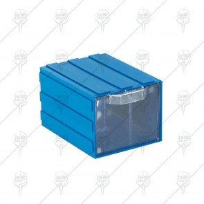 Касета с прозрачни чекмеджета за насипни стоки