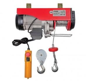 Телфер електрически RAIDER - RD-EH03 - 1600 W, 500/1000 кг., 6/12 м. въже