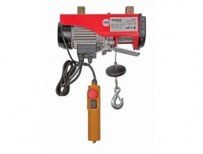 Телфер електрически RAIDER - RD-EH02 - 1020 W, 250/500 кг., 6/12м. въже