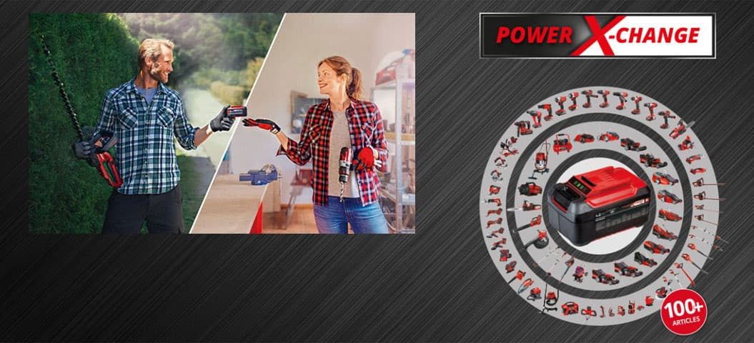 Einhell Power X-Change система