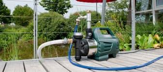 хидрофор в градина